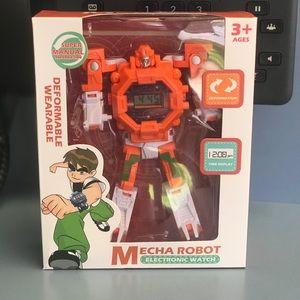 Transformer Children's Watch - Transforms to watch